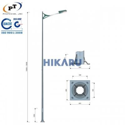 Cột đèn sân bóng đá MS3