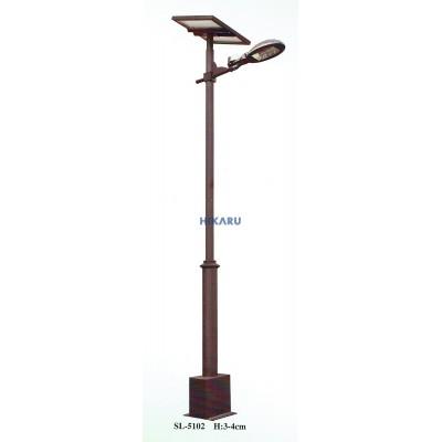 Cột đèn sân vườn solar SL-5102