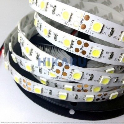 Đèn Led dây  dán gương cuộn 5m DC12V (HKR-LD512)