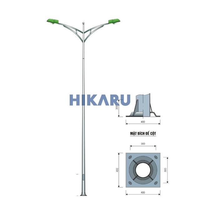 Cột đèn cao áp chất lượng cao