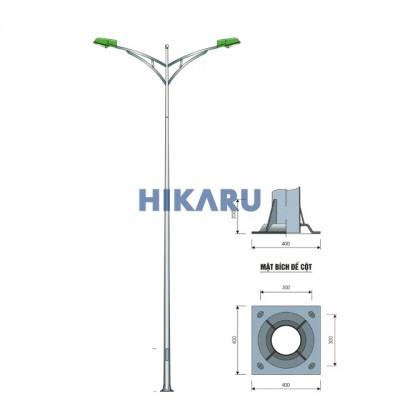 Cột đèn cao áp PT 07